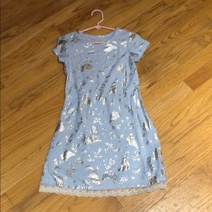 Disney dress with silver detail
